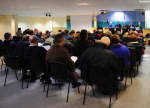 General view of the attendance at the Ardclough AGM. Pic: Piaras Ó Mídheach